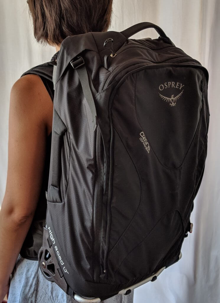 The Very Best Rolling Carry-On Backpack  The Osprey Ozone Convertible 22  in 50L 22a950069764f